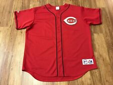 XL - Vtg MLB Cincinnati Reds #44 Adam Dunn  Majestic Sewn On Jersey