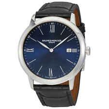 Baume et Mercier Classima Blue Dial 40mm Men's Watch MOA10324