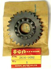 SUZUKI RM500 D/E/F 1983-1985, NEW ORIGINAL GEAR, KICK DRIVE (NT:26), 26241-14202