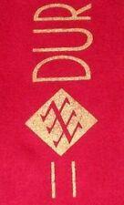 DURAN DURAN Official 1983/4 Tour Crimson Soft Wool Concert Scarf GIFT IDEA