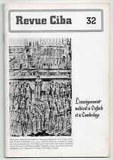 REVUE CIBA N°32 ENSEIGNEMENT MEDICAL A OXFORD ET CAMBRIDGE 1943 MEDECINE