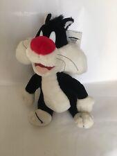 DISNEY Peluche Gatto Silvestro steso Looney Tunes 17cm