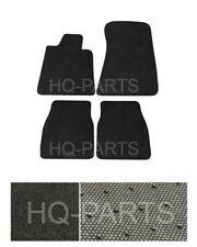 New 4 Pieces Black Nylon Carpet Floor Mats Fit For 84-91 BMW E30 3 Series Coupe