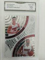 2019 Illusions Rookie Reflections #17 Tyler Herro / D. Wade GMA GEM MINT 10
