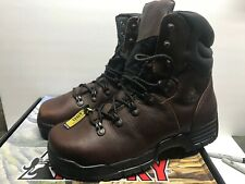 Rocky Mobilite Men's 12 Wide Steel Toe Work Boot 6115 Waterproof 8-Inches High