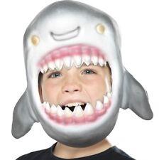 Childs Eva Shark Masque Déguisement Poisson Mousse Masque & Élastique Sangle Par Smiffys
