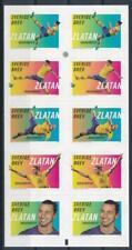 [G367770] Sweden 2014 Zlatan Ibrahimovic good complete booklet VF Adhesive