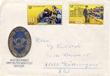 Ersttagsbrief DDR MiNr. 2584, 2587, Bildungseinrichtungen der Deutschen Post (2)