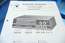 Service Manual-Anleitung für Blaupunkt Florenz 7 628 520, 7 628 970 , ORIGINAL!