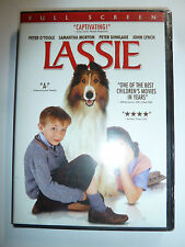 Lassie DVD collie dog family drama movie Peter O'Toole Peter Dinklage 2006 NEW!