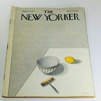 The New Yorker: June 4 1979 Full Magazine/Theme Cover Pierre Le-Tan