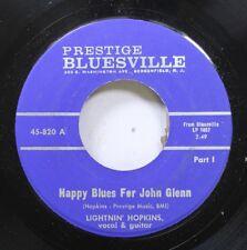 Hear! Blues 45 Lightnin' Hopkins - Happy Blues For John Glenn / Same O