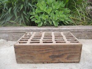 Genuine  Vintage Plant Label Storage Box   (559)