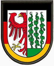 Wappen von Gardelegen, Aufnäher ,Pin, Aufbügler