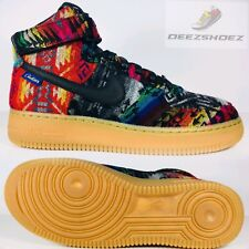 "Nike Premium Air Force 1  Hi  ""WHAT THE PENDLETON"" SIZE 7 991187 991 Rare"
