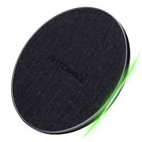 Caricabatteria Ricarica Rapida Wireless 10W Samsung Huawei Originale Noziroh QI