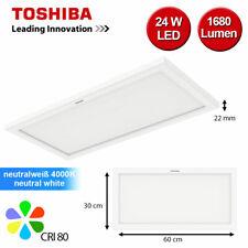 LED Panel rechteckig Lampe Deckenlampe flach slim Downlight 4000K 60 x 30cm
