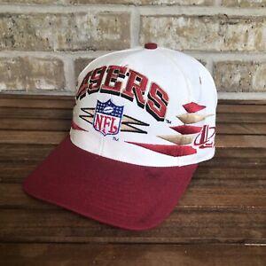 Vintage San Francisco 49ers Logo Athletic Diamond Pro Line Snapback Hat Cap NFL