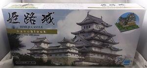 Nanoblock Deluxe Himeji Castle 2200 Pieces Micro Building Bricks Brand New