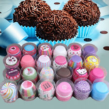 Lot 100pcs Paper Cake Cupcake Liner Case Wrapper Muffin Baking Cup Party  New.