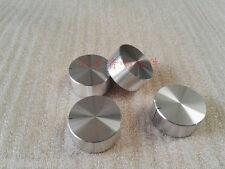 1pc D:32mm H:15mm silver amplifier knob full aluminum audio volume knob