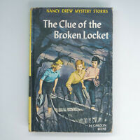 "Nancy Drew #11 ""The Clue of the Broken Locket"" Stories b/Carolyn Keene ©1965"