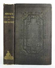 1841 LIFE AND TIMES OF RED JACKET SA GO YE WAT HA HISTORY INDIANS 1ST EDITION