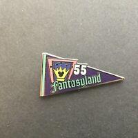 DLR Hidden Mickey Series - '55 Pennant Collection - Fantasyland Disney Pin 75099