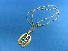 Andinkra Symbol Pendant Necklace E African Jewelry Hip Hop African Ashanti