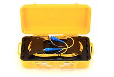 Fiber Optic OTDR Launch Cable Box,Multimode, OM3,1km SC/UPC–SC/UPC - 192751