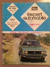 Revue Technique L'expert Automobile RENAULT 20 et 30 TS et RENAULT 15 et 17