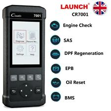 Launch DPF BMS EPB SAS Oil Reset Diagnostic Scanner Full OBD2 Code Reader