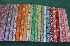 """(22)1/4 YD CUTS """"TRIBUTE TO AUNT GRACE"""" 1930 REPRO QUILT FABRIC BY MARCUS FABRIC"""