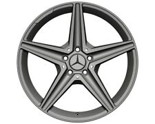 "Mercedes E and C Class Gunmetal Grey Wheels Rims 18""x8.5 Cast 4 NEW"