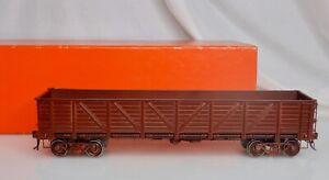 Precision Scale #15419 Brass O Gauge Gondola Train Car -  83550