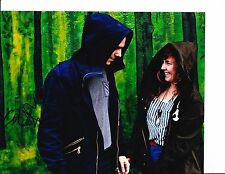 PURITY RING MEGAN JAMES AND CORIN RODDICK SIGNED IN THE FOREST  8X10