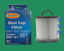 1 DCF21 HEPA Filter 3276AZ 67821 Eureka Vacuum Clean Air EF91 Pet Lover Lite