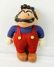 "Vintage Super Mario Bros Doll Nintendo Plush 1989 Applause Video Game Toy 12"""