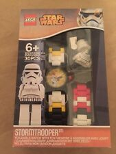 ~NEW~ Lego Star Wars ~ Stormtrooper Minifig Link Watch(8020325)
