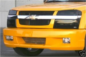 Fits 04-12 Colorado Canyon GTS Acrylic Smoke Headlight Covers 4pc Set GT0182S