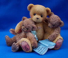 NEW! CHERISHED TEDDIES CALEB & FRIENDS 661996 WHEN ONE LACKS VISION