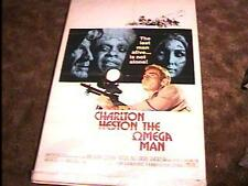 OMEGA MAN MOVIE POSTER '71 CHARLTON HESTON
