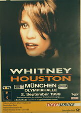 Whitney Houston Concert Tour Poster 1999 My Love Is Your Love