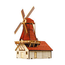 YM629 Ho-Series - Netherlands Windmill 1 - Wooden Model Kit