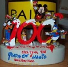 """DISNEY PINS~LE 3000~CAST MEMBER~""""100 YEARS OF MAGIC""""~FIGURINE AND PIN SET~*SALE*"""