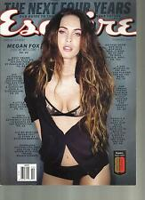 ESQUIRE, FEBRUARY, 2013  ( THE NEXT FOUR YEARS )  MEGAN FOX YOU'RE WELCOME