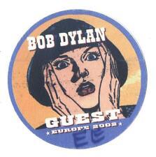 Bob Dylan - Europe 2002 - Konzert-Satin-Pass Guest - Sammlerstück