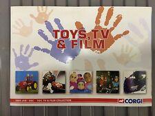 CORGI TOYS TV & FILM CATALOGUE 2005 THUNDERBIRDS CAPTAIN SCARLET GERRY ANDERSON
