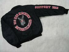 Hells Angels,Support 81, Big Red Machine  Bomberjacke mit Stick,  Gr. M - 5XL