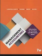 Management Accounting 7E by Kim Langfield-Smith 9781743075906